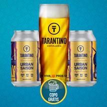 Kit de Cerveja Tarantino Saison - Compre e ganhe o copo