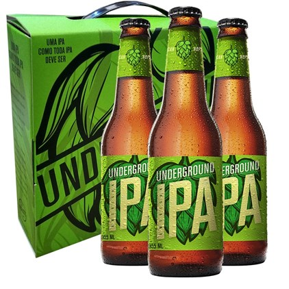 Kit de Cerveja Underground