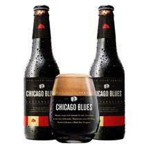 Kit de Cervejas Chicago Blues Castanheira - Compre 2 e Ganhe Copo Exclusivo