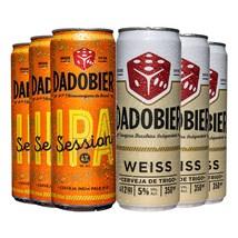 Kit de Cervejas Dado Bier - Compre 4 e Leve 6