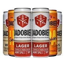 Kit de Cervejas Dado Bier Latas - Compre 4 e Leve 6