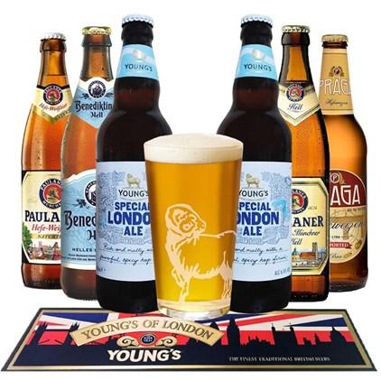 Kit de Cervejas do Velho Continente