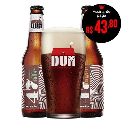 Kit de Cervejas DUM Estilos - Compre 2 e Ganhe Copo Exclusivo