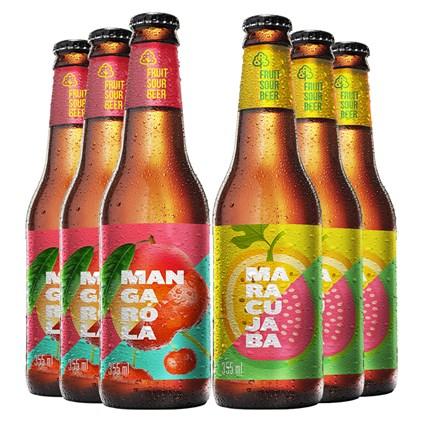 Kit de Cervejas Fruit Beer - Compre 4 Leve 6
