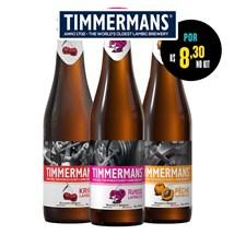 Kit de Cervejas Grandes Marcas Com Timmermans Por R$ 8,30