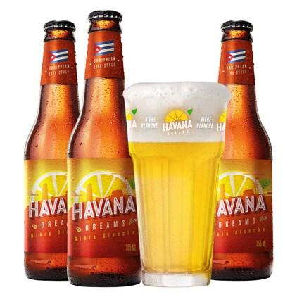 Kit de Cervejas Havana - Compre 3 e Ganhe Copo Grátis