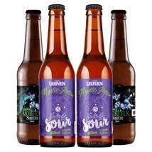 Kit de Cervejas Leuven Saison e Sour - Compre 3 Leve 4
