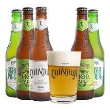 Kit de Cervejas Louvada - Compre 5 e Ganhe Caldereta Exclusiva da Marca