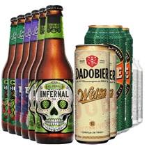 Kit de Cervejas Lupuladas - 12 Unidades