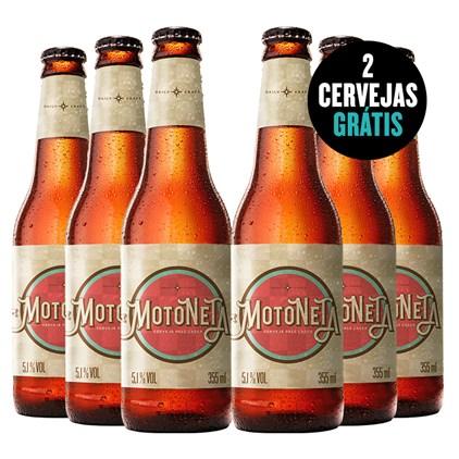 Kit de Cervejas Motoneta - Compre 4 e Leve 6