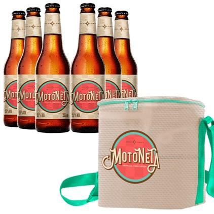 Kit de Cervejas Motoneta - Compre 6 e Ganhe Bolsa Térmica Exclusiva Grátis