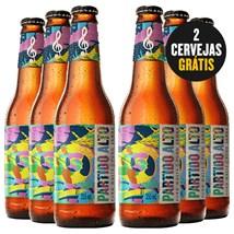 Kit de Cervejas Partido Alto - Compre 4 e Leve 6