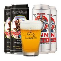 Kit de Cervejas Trooper Latas - Compre e Ganhe Copo