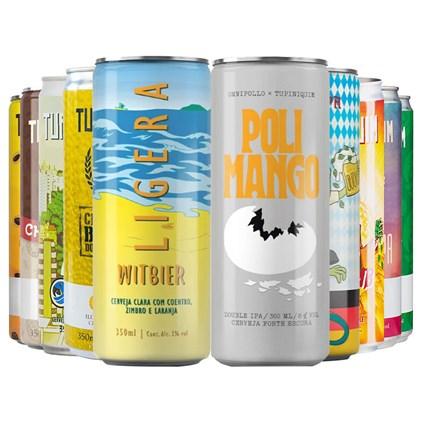 Kit de Cervejas Tupiniquim - Compre 8 Leve 10