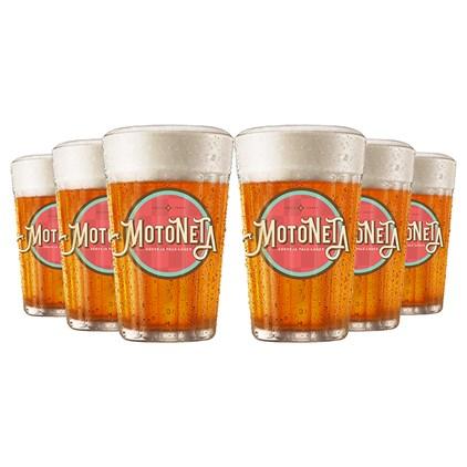 Kit de Copos Motoneta - Compre 3 e Leve 6
