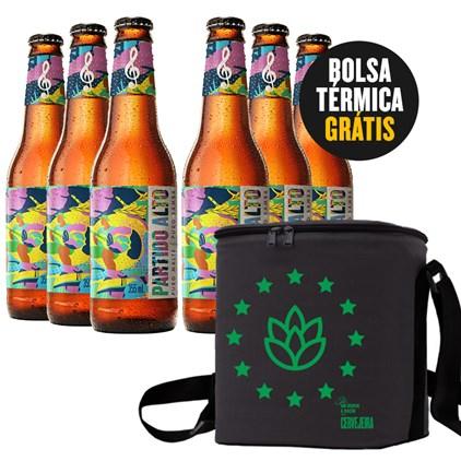 Kit do Samba - Compre 6 Cervejas Partido Alto e Leve Bolsa Térmica GRÁTIS