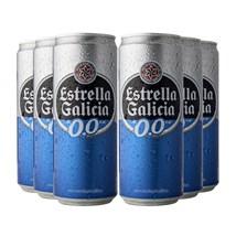 Kit Estrella Galicia Sem Álcool  - Compre 4 Cervejas e Leve 6