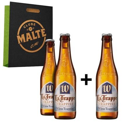 Kit La Trappe Witbier - Compre 2 Cervejas e Leve 3