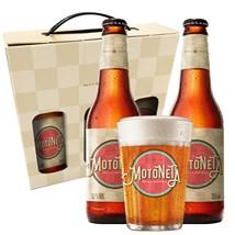 Kit Motoneta - Cervejas e Copo