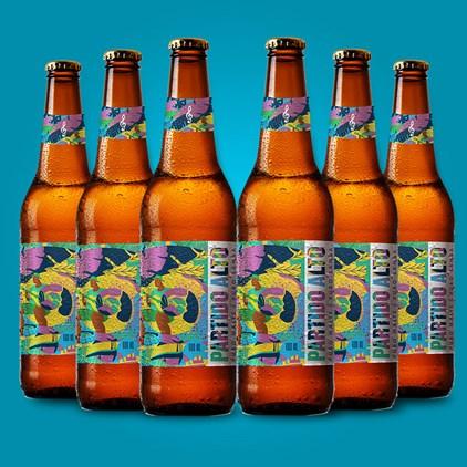Kit Partido Alto 600 ml EM DOBRO - Compre 3 Cervejas e Leve 6