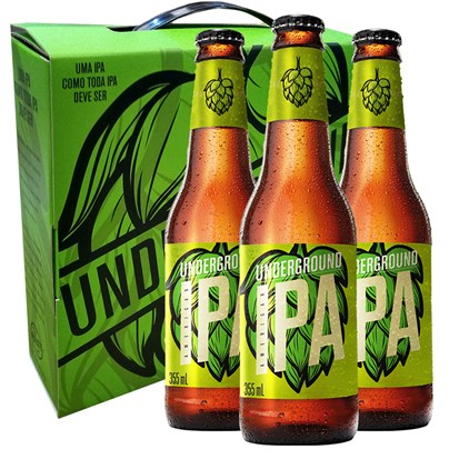 Kit Underground - Cervejas