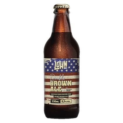 Lohn Bier Double Brown Ale Garrafa 330ml
