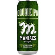 Maniacs Double IPA Lata 473ml