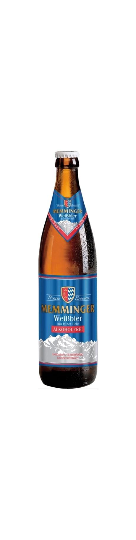 Memminger Weissbier Alkoholfrei