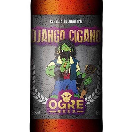 Ogre Beer Django Cigano Garrafa 600ml