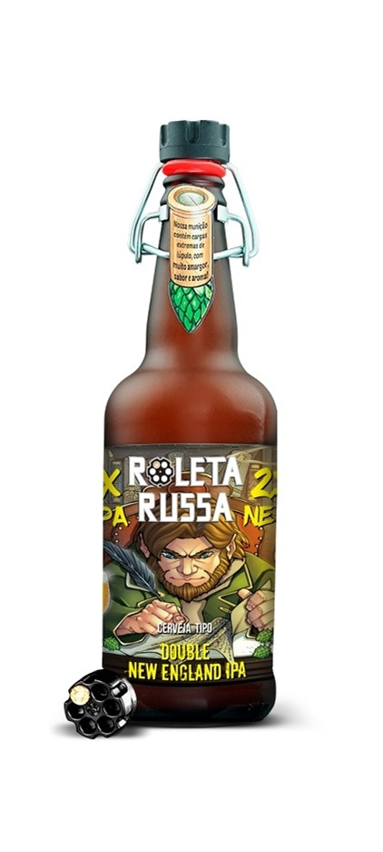Roleta Russa Double New England IPA 500ml