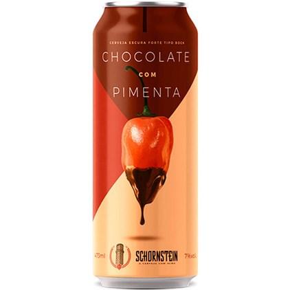 Schornstein Chocolate com Pimenta Lata 473ml