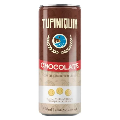 Tupiniquim Chocolate Lata 350ml
