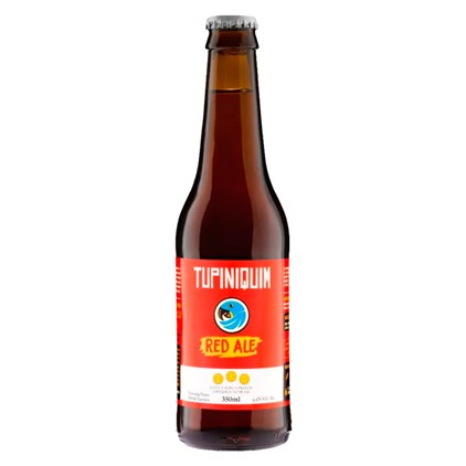 Tupiniquim Irish Red Ale Garrafa 350ml