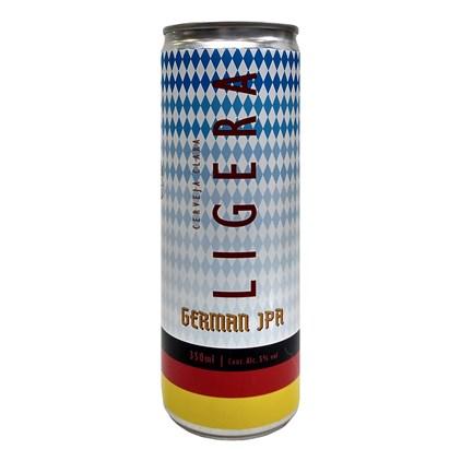 Tupiniquim Ligera German IPA Lata 350ml