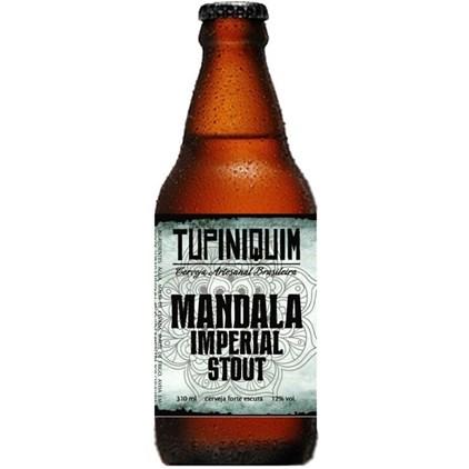 Tupiniquim Mandala Imperial Stout Garrafa 310ml