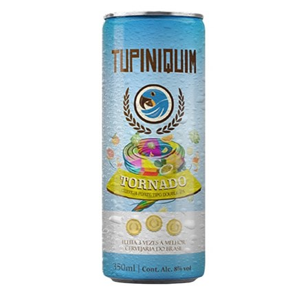 Tupiniquim Tornado Double IPA Lata 350ml