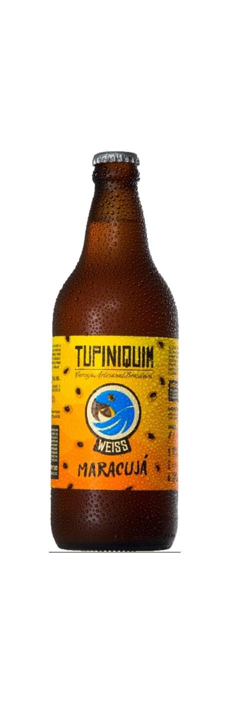 Tupiniquim Weiss Maracujá 600ml