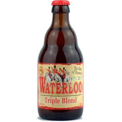 Waterloo Triple Blond 330ml