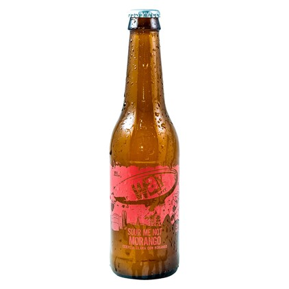 Way Beer Sour Me Not Morango Garrafa 355ml