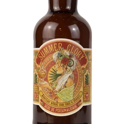 Wonderland Summer Glory American Wheat Pale Ale Garrafa 500ml